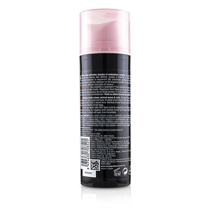 L'OREAL  Professionnel Hollywood Waves by Tecni.Art Siren Waves Defining Elasto-Cream  Size: 150ml/5.1oz