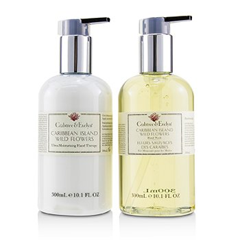 CRABTREE & EVELYN It's Wild Caribbean Island Wild Flowers Hand Care Duo
