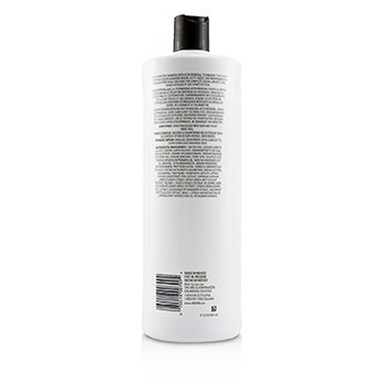 NIOXIN Derma Purifying System 2 Cleanser Shampoo (Natural Hair, Progressed Thinning) Size: 1000ml/33.8oz