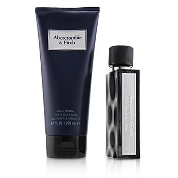ABERCROMBIE & FITCH First Instinct Blue Coffret
