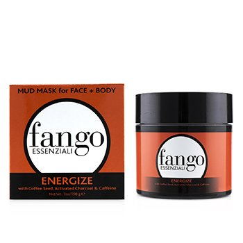BORGHESE  Fango Essenziali Energize Mud Mask with Coffee Seed, Activated Charcoal & Caffeine Size 198g/7oz