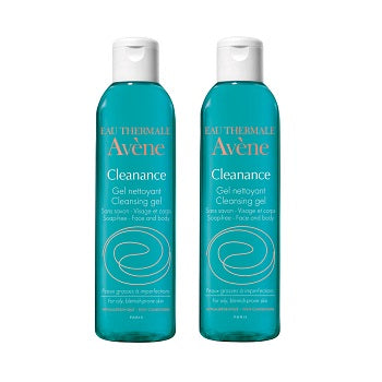 AVENE Cleanance Soapless Gel Cleanser 2x100ML