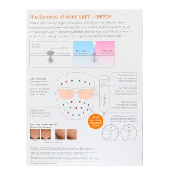 Neutrogena Light Therapy Acne Mask 1 Mask and 1 Activator with 30 Daily Treatment Sessions