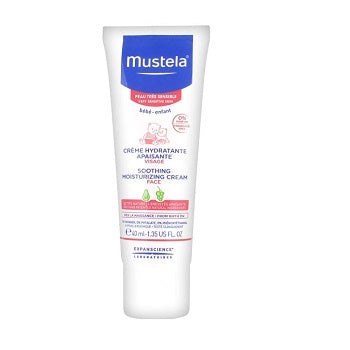 Mustela Soothing Moisturizing Cream 2 x 40ML