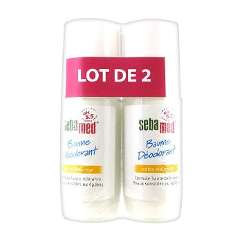 SEBAMED Deodorant Balm Extra Softness 2x50ML