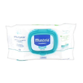 Mustela Stelatopia Replenishing Cleansing 6x50Wipes