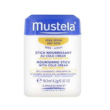 MUSTELA Nourishing Stick with Cold Cream 10.1ml/0.32oz