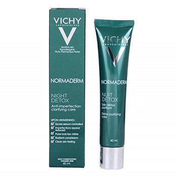 Vichy Normaderm Night Detox Anti-Imperfection Clarifying Care 40ML