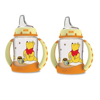 NUK Disney Baby Winnie The Pooh Learner Cup 6+ Months 1 Cup 5oz (150ml)