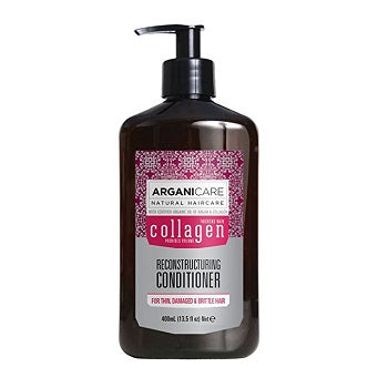 Arganicare Reconstructing Collagen Conditioner for thin, damaged and brittle hair 400ML