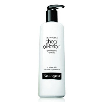 NEUTROGENA Sheer Body Oil-Lotion, Light Sesame Formula 250ML/8.5oz