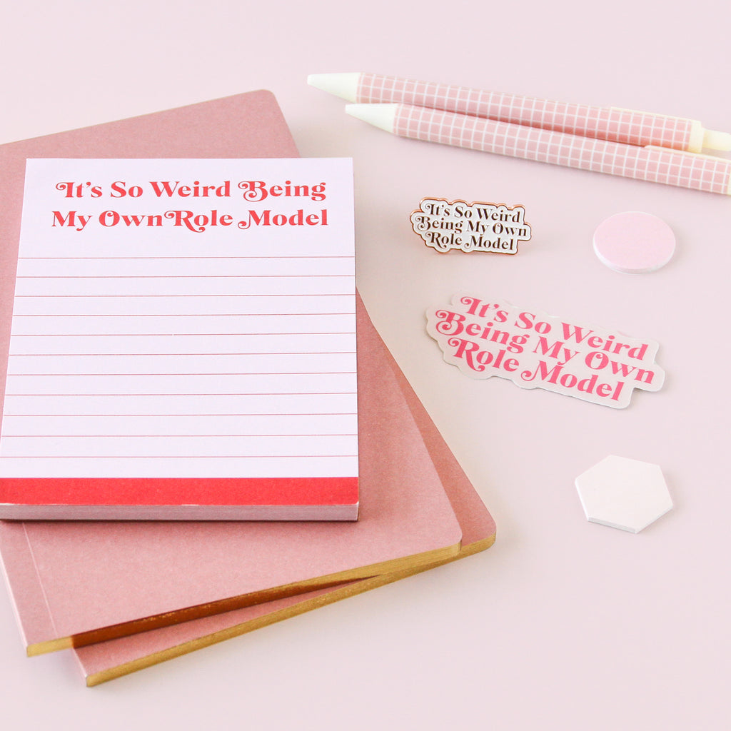 Mindy Project Own Role Model Notepad - Simply Shop