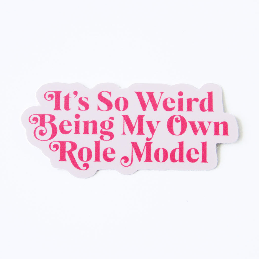 Mindy Project Own Role Model Vinyl Sticker - Simply Shop