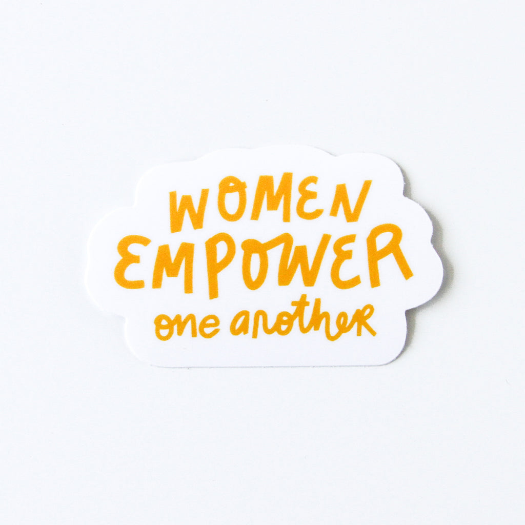 Women Empower Vinyl Sticker - Simply Shop