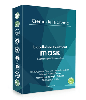 Biocellulose 4-pack (Brightening and Rejuvenating Treatment Facial Mask)