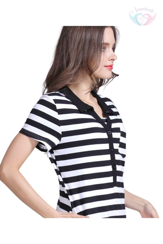 Blusa de lactancia Cross