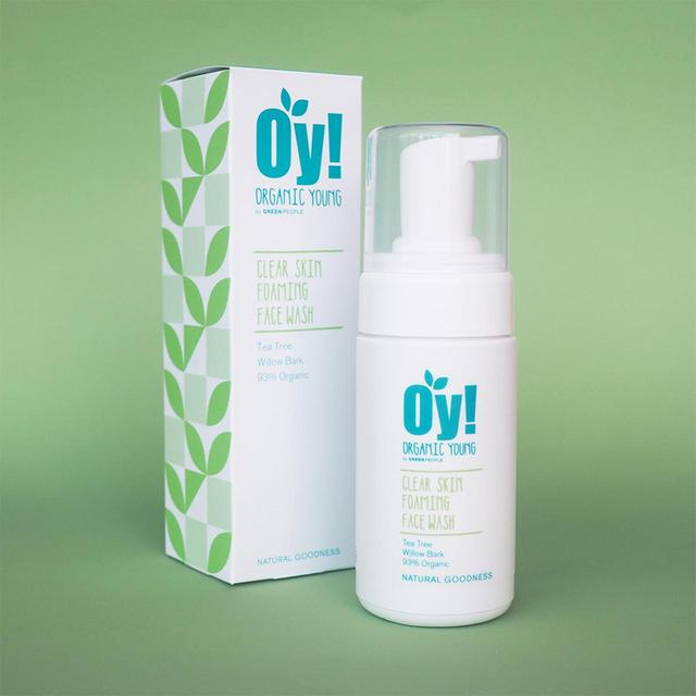 Organic Young OY!  Foaming Face Wash