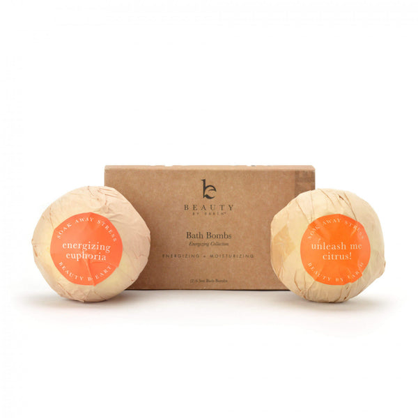 Bath Bombs - 2 Pack - Energize