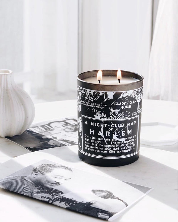 Langston 'Nightclub Map Candle'