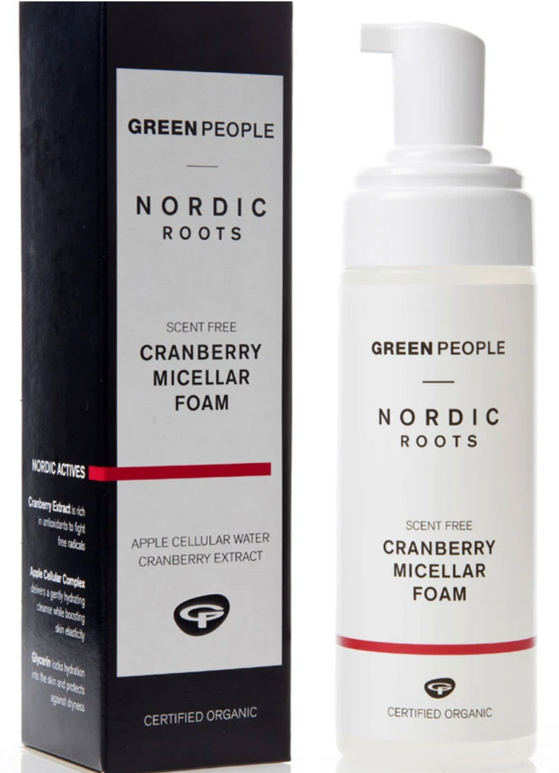 Nordic Roots Cranberry Micellar Foaming Face Wash
