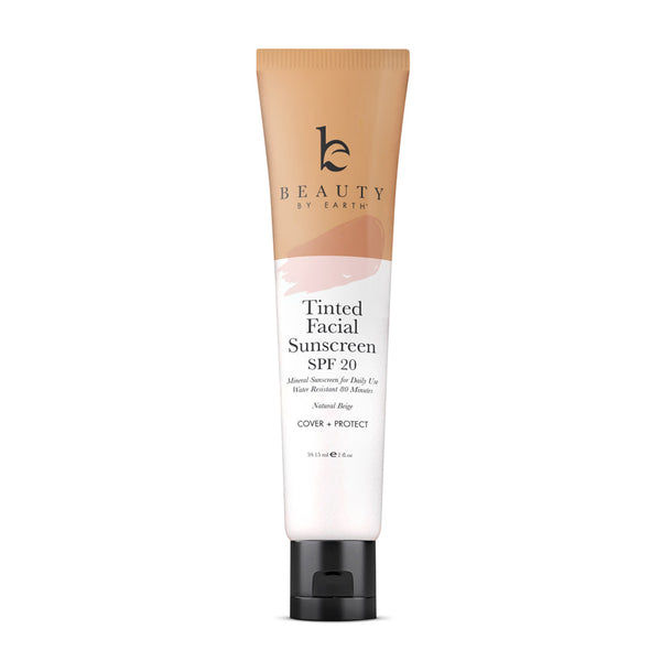 Facial Sunscreen SPF20 Tinted Natural Beige