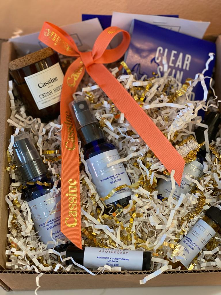 Province Apothecary Gift Set with Candle