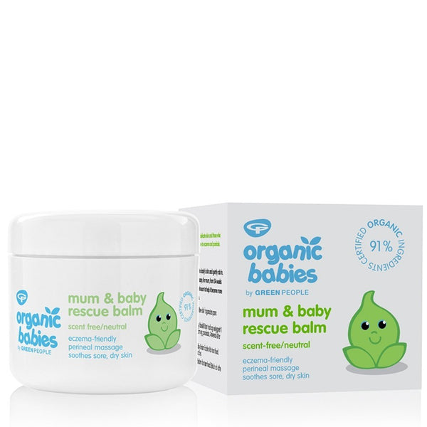 Organic Babies Mum & Baby Rescue Balm - Scent Free