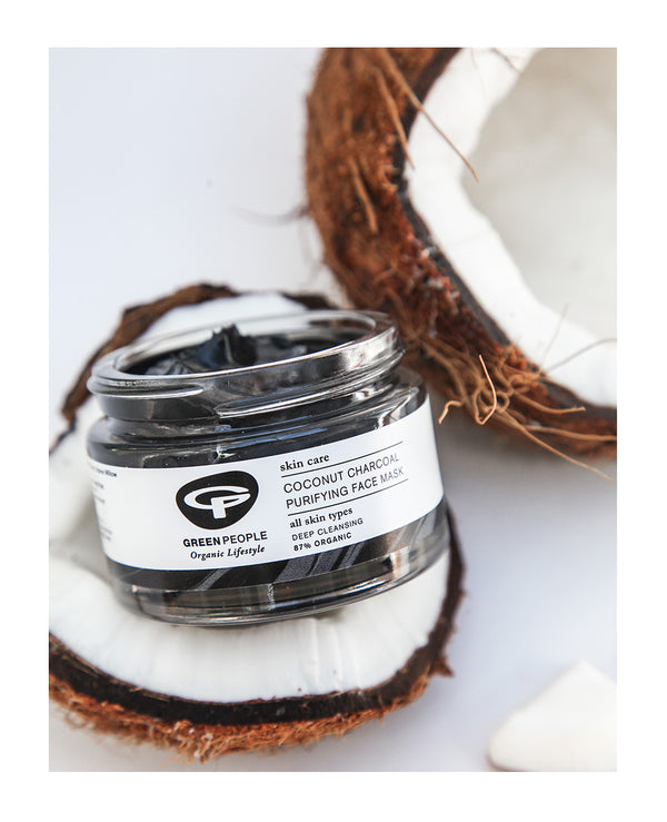 Coconut Charcoal Purifying Mask