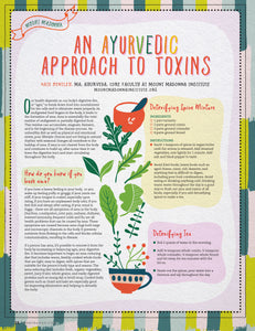An Ayurvedic Approach to Toxins