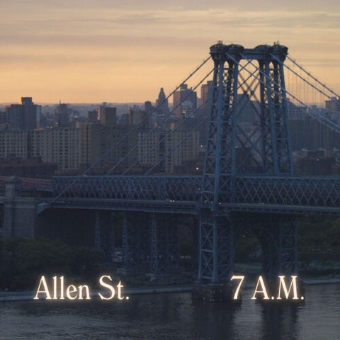 Playlist Allen St. 7 A.M.Sunrise Transfer in Porsche 356, from JFK to Lower East Side Home