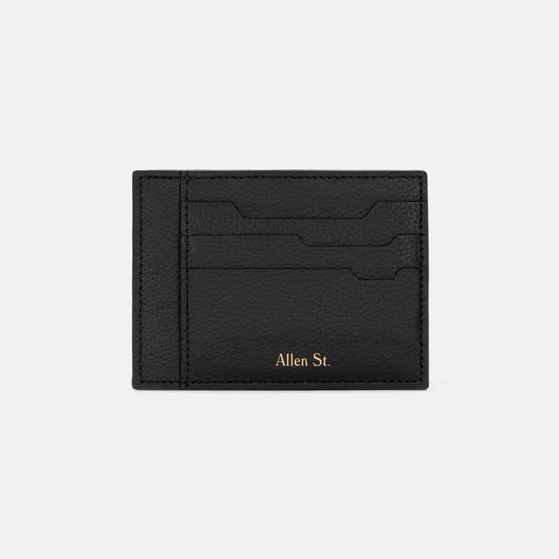 GREENWICH - GRAINED LEATHER CARDHOLDER