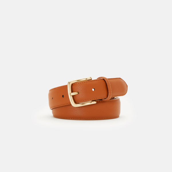 BUCKLE SET 002 - LIGHT GOLD BRASS BUCKLE