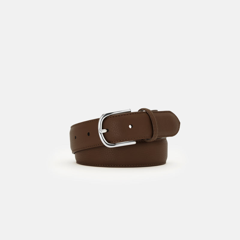 JONES - GRAINED LEATHER BELT