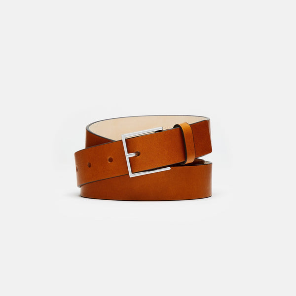 RIVINGTON - VEGETABLE TANNED LEATHER BELT