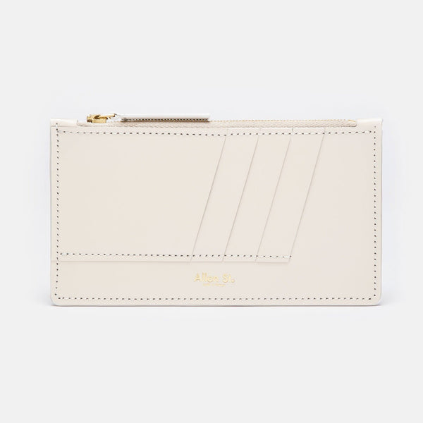 MAGNOLIA - ZIP WALLET - WHITE