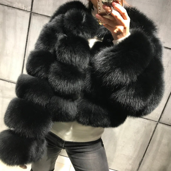 FabuleuxFemme Genuine Fur Style: 6938