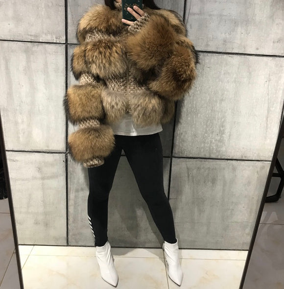 FabuleuxFemme Genuine Fur Style: 6959