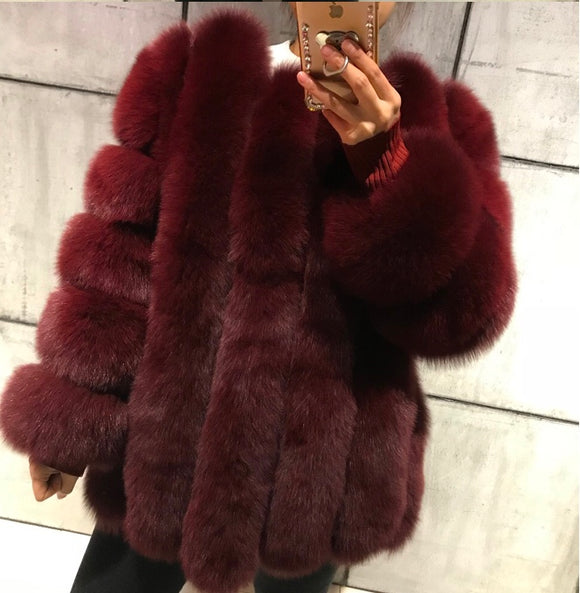FabuleuxFemme Genuine Fur Style: 6957