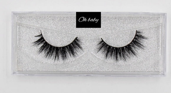 FEMME Mink Strip Lashes : Oh Baby