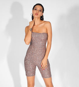 FabuleuxFemme Glitter Blush One Piece