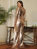 FabuleuxFemme Blush Glitter Split One Piece