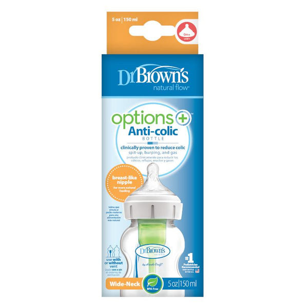 Mamadera boca ancha DrBrowns Options+ 270ml - Motherna