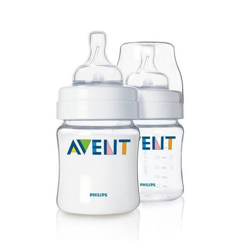 Pack 2 mamaderas Avent Classic 125ml - Motherna