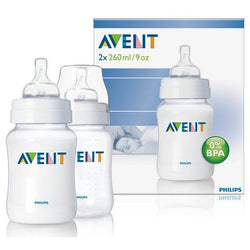Pack 2 mamaderas Avent Classic 260ml - Motherna