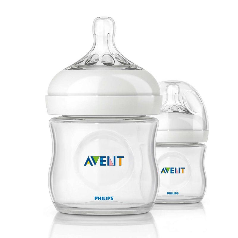 Pack 2 mamaderas Avent Natural 125ml - Motherna