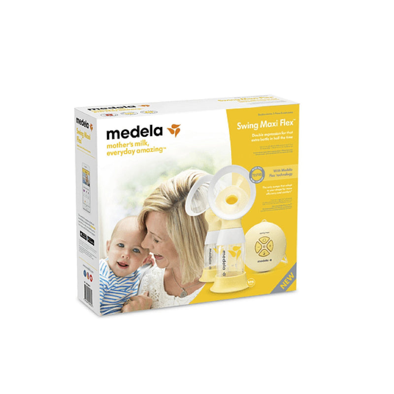 Sacaleches eléctrico doble Medela Swing Maxi Flex 2-Phase - Motherna