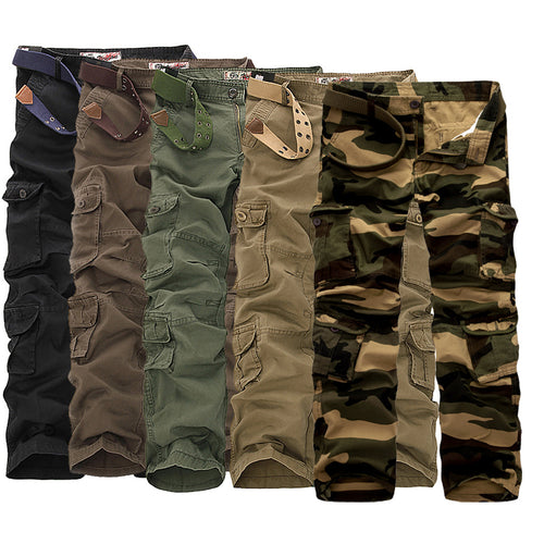 Loose Casual Cargo Trousers
