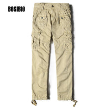 Military Cargo Pants Solid