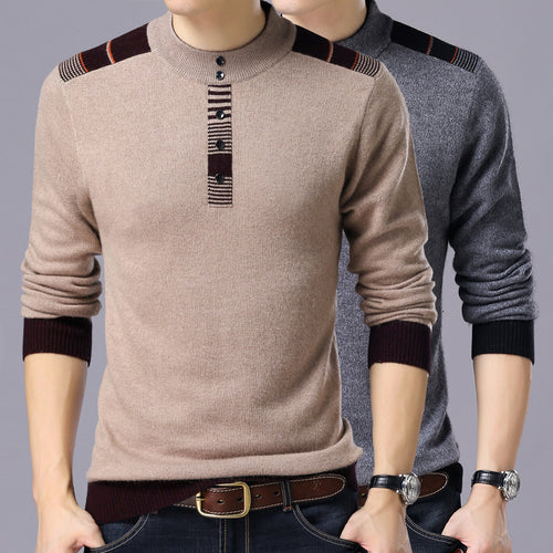 O-Neck Wool Sweater