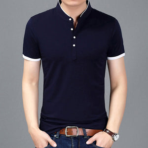 Tshirt Men Solid Color